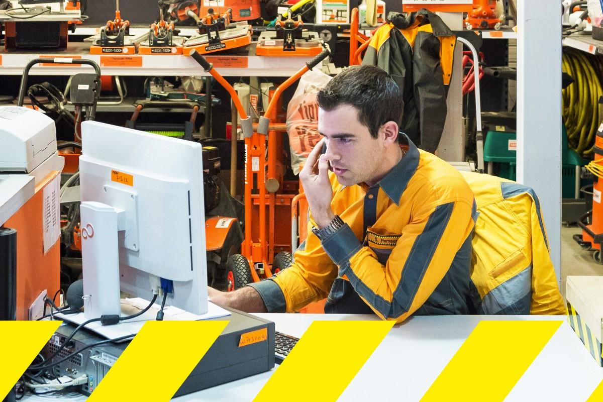 Företagsservice: Egen kontaktpunkt