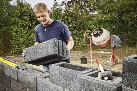 Köp betong, bindemedel och bruk på HORNBACH