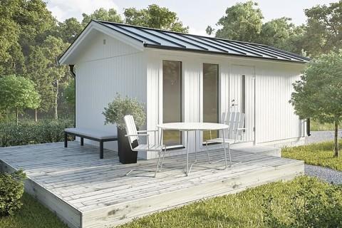 Köp ett attefallshus på HORNBACH.se