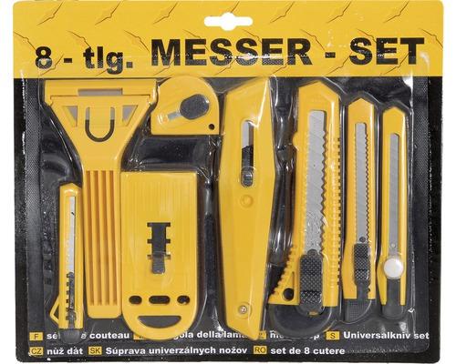 Knivset plast 8 delar