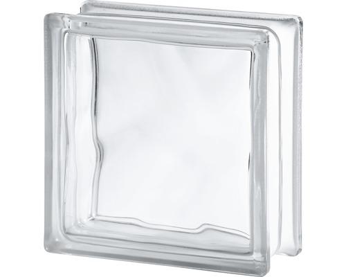 Glasblock moln klar 190x190x80mm