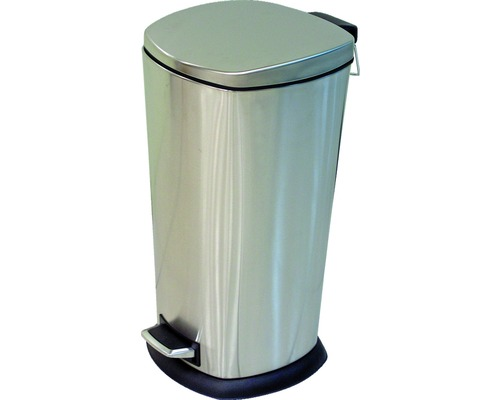 Pedalhink 40 liter rostfritt stål