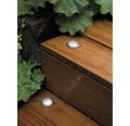 Golvspotset PAULMANN Special Mini Basic LED rostfritt stål med 4 ljuskällor, 7000K dagsljusvit Ø 44mm