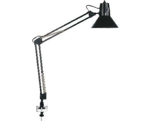Bordslampa BRILLIANT Hobby kläm svart