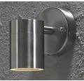 Vägglykta KONSTSMIDE Modena rostfritt stål, 1x35W/GU10 90x60mm, ljusutsläpp nedåt, 7572-000