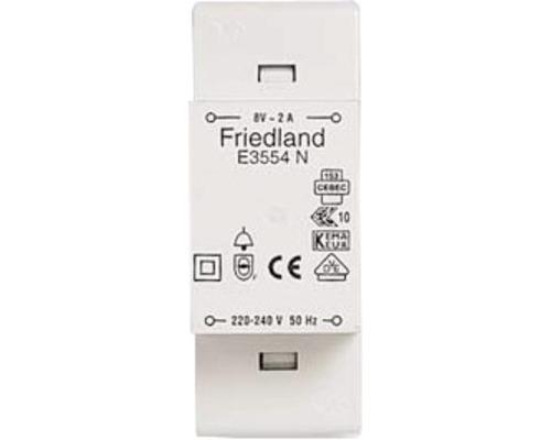 FRIEDLAND Ringledningstrafo 8 V 2A