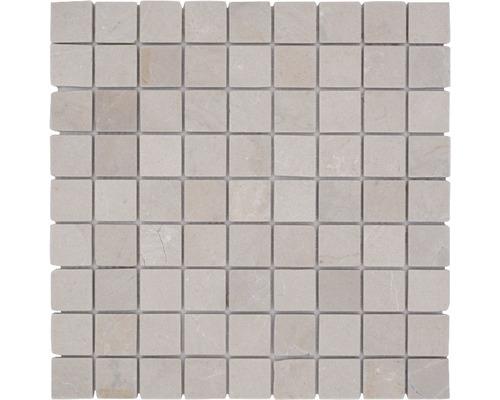 Mosaik natursten Botticino beige 30,5x30,5 cm