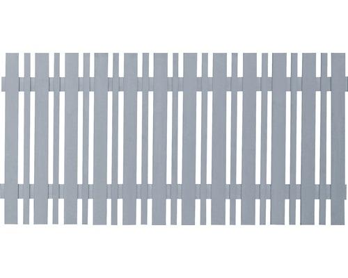 Trädgårdsstaket ECO 180x80cm grå matt