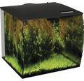 Akvarium FLUVAL Flex 57 l med LED-belysning, filter, pump, utan underskåp svart