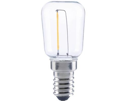 FLAIR LED lampa Filament S28 klar E14/0,45W 40 lm 2700 K varmvit