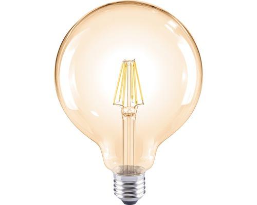 FLAIR LED klotlampa G120 amber E27/8W(60W) 800 lm 2000 K varmvit