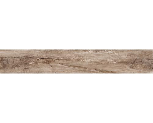 Klinker Dakota träoptik brun 15x100cm