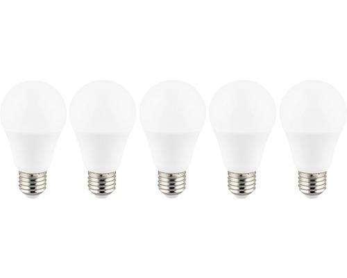 LED normallampa A60 vit E27 10W 806 lm 2700 K varmvit 5-pack