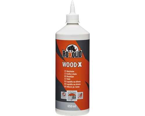 ROXOLID Wood-X Trälim D3 650 ml
