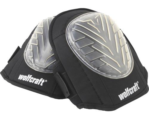 Knäskydd WOLFCRAFT med gelinlägg och kardborrefäste