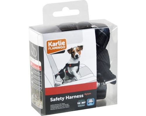 Säkerhetssele KARLIE XS 25-40cm svart