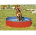 Hundpool KARLIE Doggy Pool 160cm röd/blå