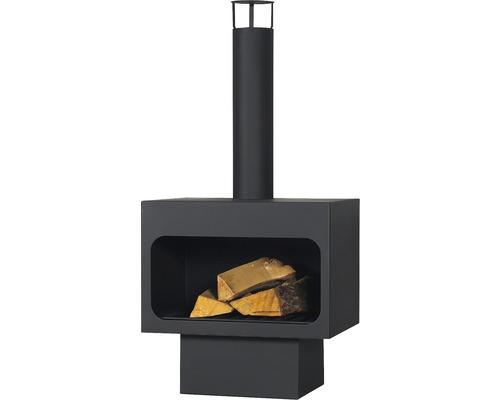 Utomhuskamin REDFIRE Jersey XL 40x56x120cm svart