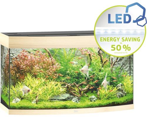 Akvarium JUWEL Vision 180 LED ljust trä