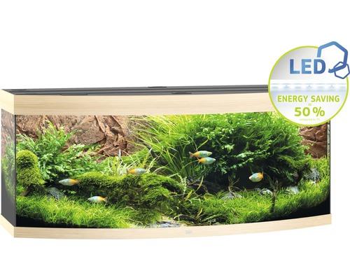Akvarium JUWEL Vision 450 LED ljust trä