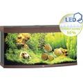 Akvarium JUWEL Vision 260 LED mörkt trä