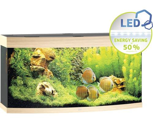 Akvarium JUWEL Vision 260 LED ljust trä