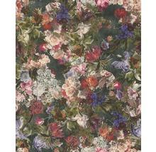 Tapet RASCH Passepartout Blommor Lila Rosa