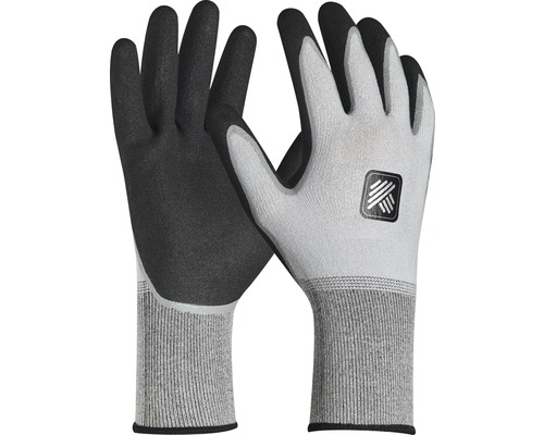 Arbetshandskar HAMMER WORKWEAR Pro Tex Comfort grå/svart stl 11