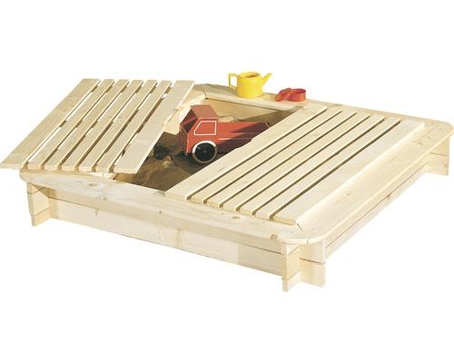 Sandlåda JABO 120x120cm med lock