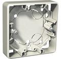 SCHNEIDER Exxact utanpåliggande dosa 21 mm, 1-fack, metallic, 1820961
