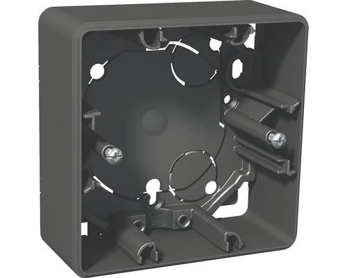 Dosa SCHNEIDER Exxact utanpåliggande 35mm 1-fack antracit 1820981