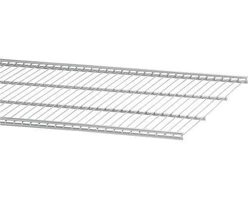 Trådhylla ELFA 40, 902x405mm platinum, 450580