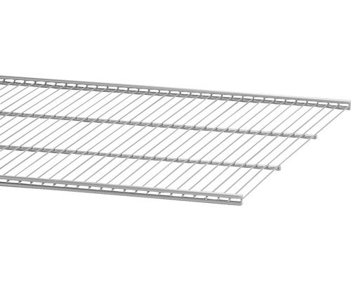 Trådhylla ELFA 50, 902x494mm platinum, 451980