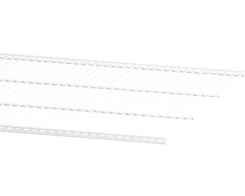 Trådhylla ELFA 1212x494mm vit, 452018