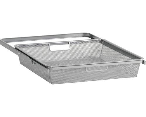 Meshback ELFA utdragbar för 40cm konsoler HxB 85x449mm platinum, 264188