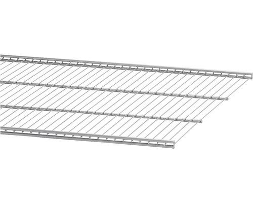 Trådhylla ELFA 50, 1212x494mm platinum, 452048