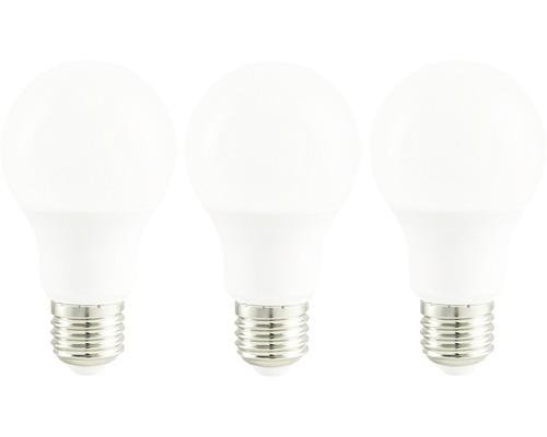 LED lampa A60 vit E27/9,5W(60W) 806 lm 2700 K varmvit 3-pack