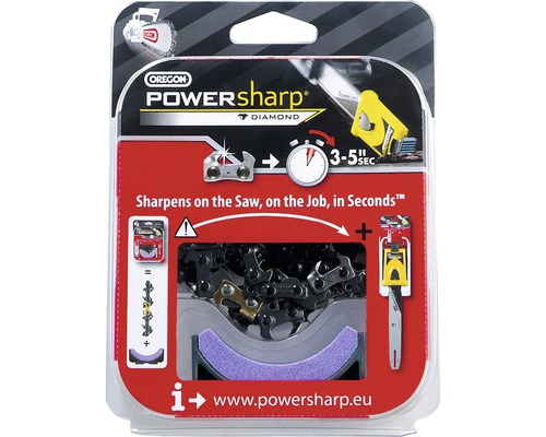 "Kedja & slipsten OREGON PowerSharp 3/8"" 1,3mm 12"" 44E"