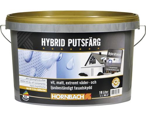Hybrid Putsfärg vit 10 l