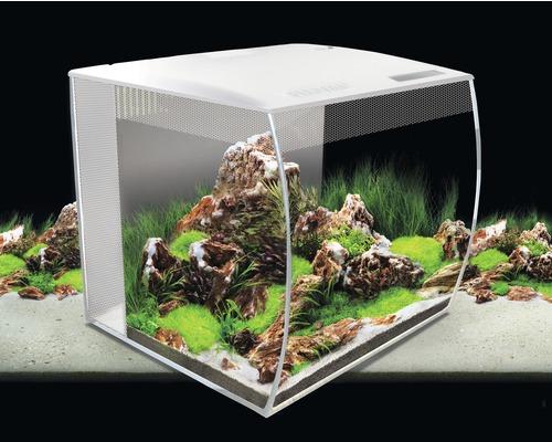 Akvarium FLUVAL Flex LED 57L vit underskåp ingår ej