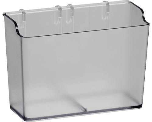 Förvaringsbox ELFA låg smal transparent, 474830