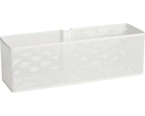 ELFA Dörr- och väggkorg mesh, stor, vit, 333090