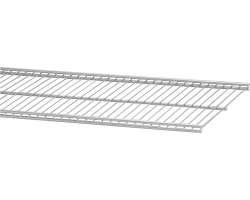 Trådhylla ELFA 30, 607x305mm platinum, 450280