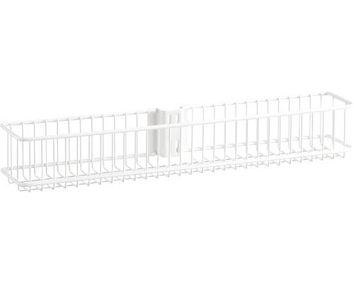 Dörr- och väggkorg ELFA tråd liten vit, 333210