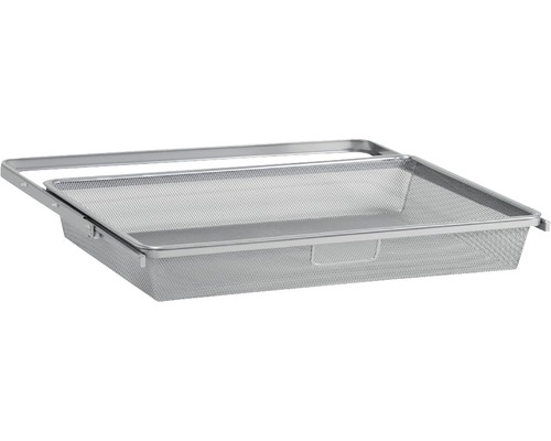 Meshback ELFA utdragbar för 40cm konsoler HxB 85x605mm platinum, 266488
