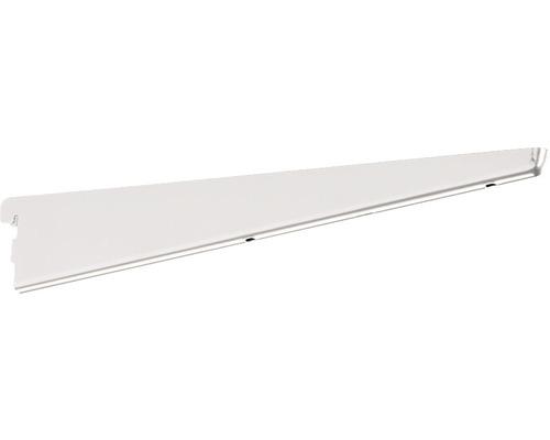 Sparringkonsol ELFA 370mm med urtag för klädstångshållare platinum, 413785