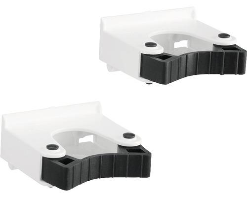 Redskapshållare ELFA liten Ø 20-30mm vit 2-pack, 477610