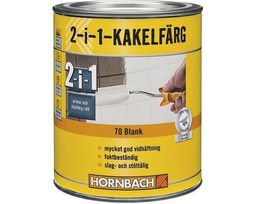 Kakelfärg HORNBACH 70 blank vit 1L