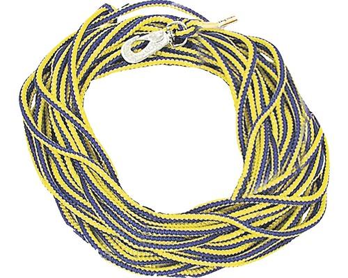 DOGMAN Spårlina 15m blå/gul