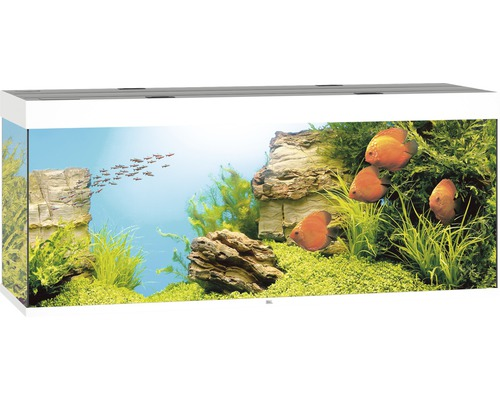 Akvarium JUWEL Rio 450 LED vit underskåp ingår ej
